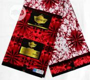 Red Ankara Colourful Fabric | Clothing for sale in Lagos State, Ikoyi