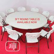 Set Of Foldable Plastic Table 10ft | Furniture for sale in Lagos State, Ojo