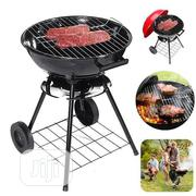 Portable Red Charcoal Barbecue Grill | Kitchen Appliances for sale in Lagos State, Alimosho