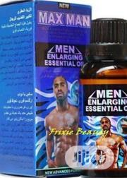 Max Man Men Enlargement Essential Oil | Sexual Wellness for sale in Lagos State, Ikotun/Igando