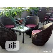 Unique Garden Chair With The Table | Furniture for sale in Lagos State, Ikoyi