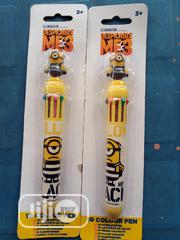 Wholesale Despicable Me 3 10 Colour Pen +3 | Babies & Kids Accessories for sale in Lagos State, Amuwo-Odofin