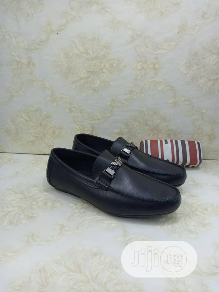 Clarks Leather Suede Loafers Flat Shoes | Shoes for sale in Lagos Island, Lagos State, Nigeria