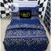 Quality 6x7 Duvet Bedsheet With 4 Pillow Cases | Home Accessories for sale in Lagos State, Ikeja