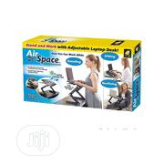 Airspace Adjustable Laptop Desk Wt Mouse Pad & Cooling Fan   Computer Accessories  for sale in Lagos State, Ikeja