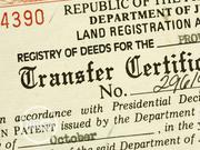 Land Title Search And Registration | Legal Services for sale in Lagos State, Ikeja