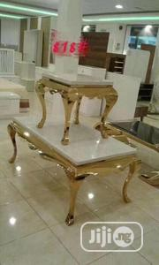 Centre Table With Two Side Stools   Furniture for sale in Lagos State, Ojo