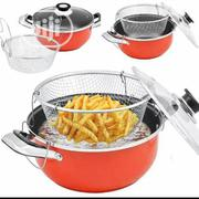 28cm Non Stick Manual Deep Fryer   Kitchen Appliances for sale in Lagos State, Surulere