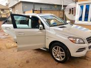 Mercedes-Benz M Class 2013 White   Cars for sale in Lagos State, Surulere