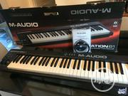 M Audio Keystation 61 Midi Keyboard | Musical Instruments & Gear for sale in Lagos State, Ojo