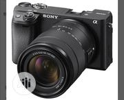 Sony A6400 Camera and 18 - 135mm Lens | Photo & Video Cameras for sale in Lagos State, Ikeja