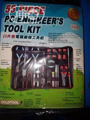 Gold Tools 55 Pieces PC Engineering Tool Kit | Hand Tools for sale in Lagos State, Ojo