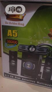A5 Bluetooth Home Theatre | Audio & Music Equipment for sale in Lagos State, Ojo