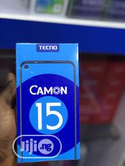 New Tecno Camon 15 64 GB Blue | Mobile Phones for sale in Lagos State, Ikeja