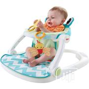 Used Fisher-Price Sit-Me-Up Floor Seat, Citrus Frog | Children's Gear & Safety for sale in Lagos State, Isolo