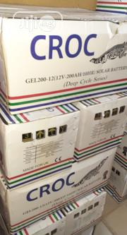 12v 200ah Croc Battery Available | Solar Energy for sale in Lagos State, Ojo