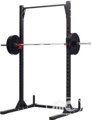 Original HD Squat Stand + 40kg Disc + 1.8M Barbell | Sports Equipment for sale in Lagos State, Amuwo-Odofin
