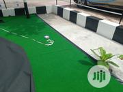 Mini Roundabout Decor With Artificial Grass Carpet At Oko Oba | Garden for sale in Lagos State, Ikeja
