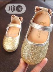 Gold Glitters Shoe | Children's Shoes for sale in Lagos State, Agboyi/Ketu