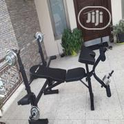 Bench Press Weight Bench With 50kg Weight | Sports Equipment for sale in Abuja (FCT) State, Jabi