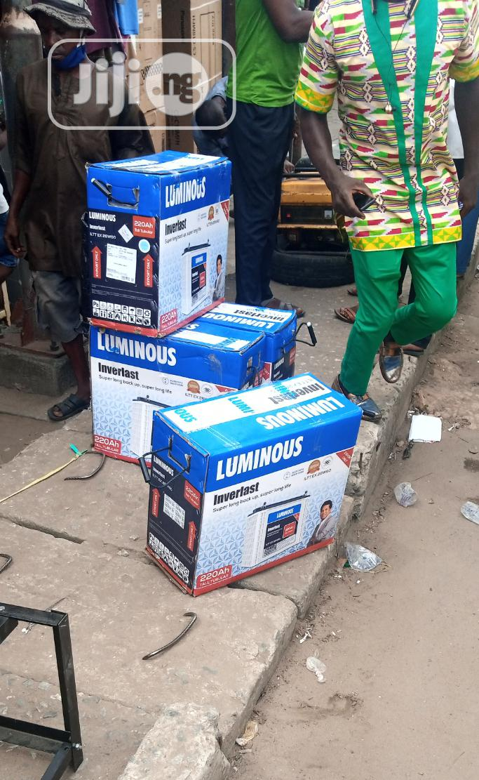 12v 220ahs Luminous Tubular Battery | Solar Energy for sale in Ojo, Lagos State, Nigeria