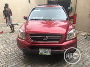 Honda Pilot 2003 EX 4x4 (3.5L 6cyl 5A) Red | Cars for sale in Lagos State, Ojota