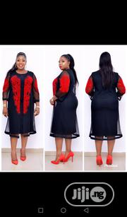 Cute Ceremonial Dress in Black Nd Red( Front/Hand Fully Stoned) 42-48 | Clothing for sale in Lagos State, Isolo