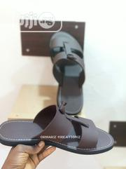 Handmade Two-Strap Stopper Palm Slippers | Shoes for sale in Abuja (FCT) State, Karu