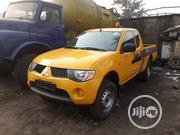 Mitsubishi L200 2008 2.5 DI-D Yellow | Cars for sale in Lagos State, Apapa