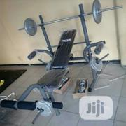 Bodyfit Weight Bench With Weight | Sports Equipment for sale in Lagos State, Surulere