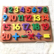 Numbers and Alphabet Wooden Puzzle | Toys for sale in Lagos State, Alimosho