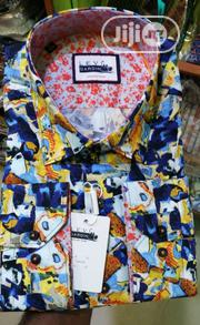Blue & Yellow Vintage Design Turkey Shirts By Levi Gardin | Clothing for sale in Lagos State, Lagos Island