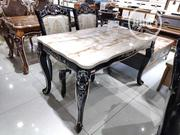 Quality Portable Royal Marble Dining Table | Furniture for sale in Lagos State, Lekki Phase 1