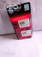 Original Hp Printer Ink Cartridges 652 Colour | Accessories & Supplies for Electronics for sale in Lagos State, Lekki Phase 1
