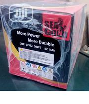 Very Solid And Sharp Sea Gold Battery 75ahms With Quick Delivery | Vehicle Parts & Accessories for sale in Lagos State, Ajah