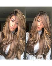 Quality Wavy Human Hair Wig With Frontal   Hair Beauty for sale in Lagos State, Ikeja