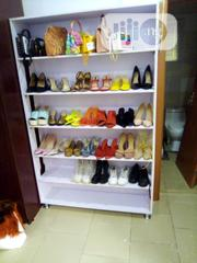 White Custom Shoe Rack | Furniture for sale in Lagos State, Ajah