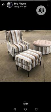 Unique Rocky Sofa With Ottoman | Furniture for sale in Lagos State, Ikeja