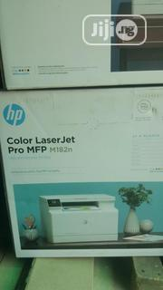 HP Color Laserjet Pro MFP M182n Colour Printer Scanner Copier LAN | Printers & Scanners for sale in Lagos State, Ikeja