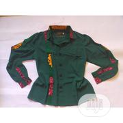 Green Chiffon Button Down Shirt | Clothing for sale in Lagos State, Ikeja