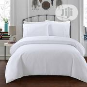 Quality America Stock White Bedsheet Duvet Set for Hotel , Home Use | Home Accessories for sale in Lagos State, Lagos Island