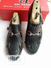Zion Monk Black Leather Shoe   Shoes for sale in Oyo State, Ibadan