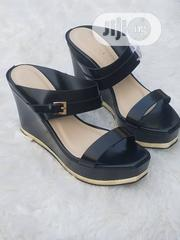 Black Wedge Sandals for Ladies | Shoes for sale in Lagos State, Ajah