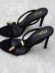 Ladies Black Slipper Sandals   Shoes for sale in Lagos State, Lekki Phase 1