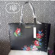 Black Red Herring Embroidered Shopper Bag | Bags for sale in Abuja (FCT) State, Karmo