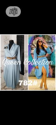 Fitted Gown With Belt | Clothing Accessories for sale in Lagos State, Lekki Phase 2