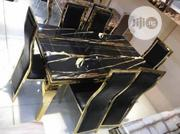 Set Of Quality Marble Dining Table | Furniture for sale in Lagos State, Ojo