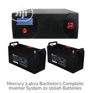 Mercury Inverter 2.4kva/ Two 100ah Batteries | Electrical Equipment for sale in Lagos State, Ikeja