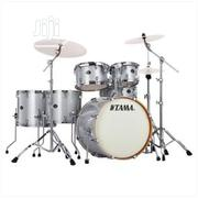 Tama Silverstar White Sparkle 5-piece Drum Set | Musical Instruments & Gear for sale in Lagos State, Ojo