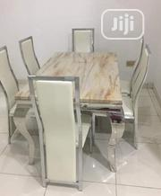 A Quality Six Seater Marble Dining Table | Furniture for sale in Lagos State, Amuwo-Odofin